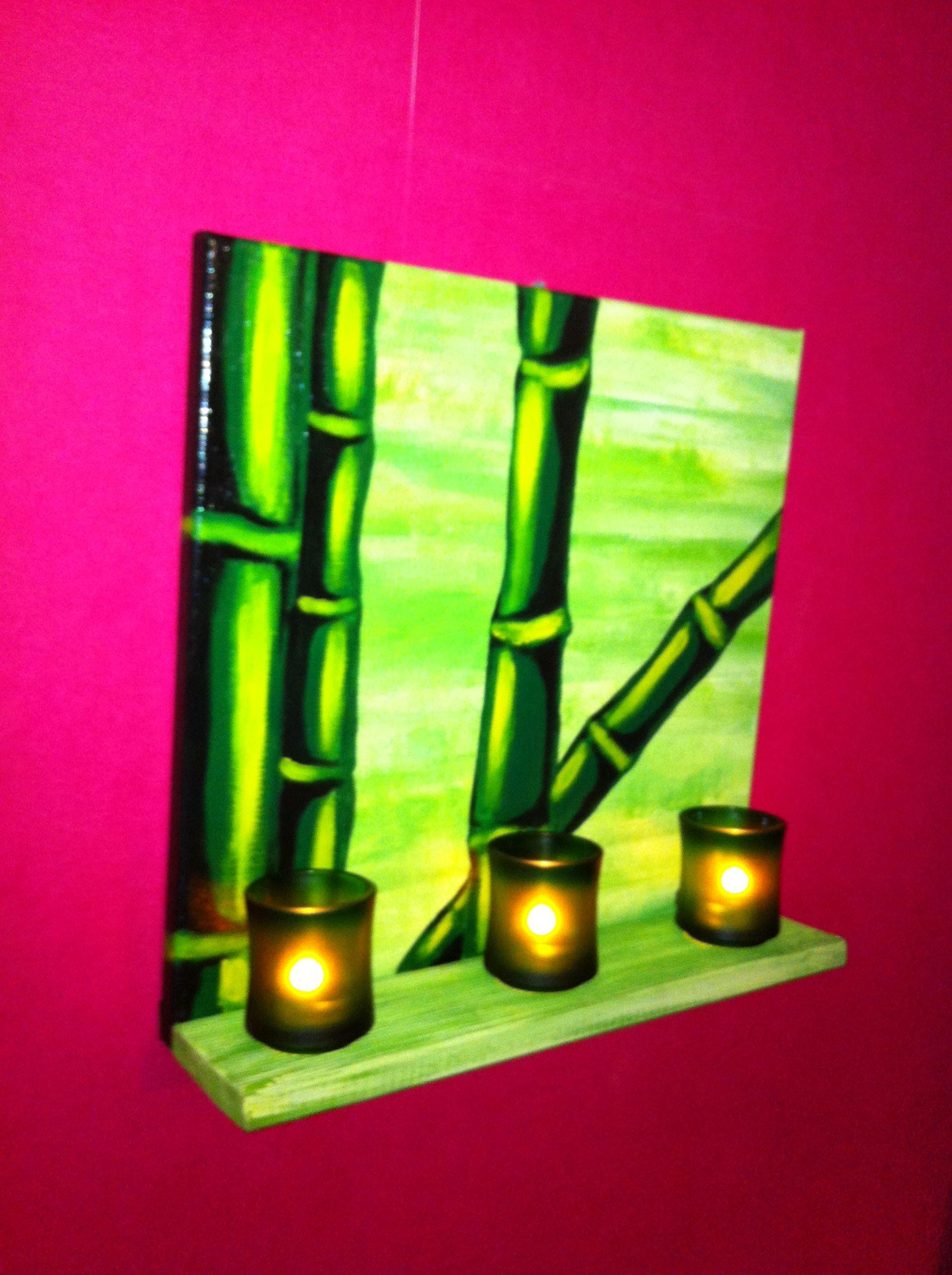 tableau bambou. Black Bedroom Furniture Sets. Home Design Ideas